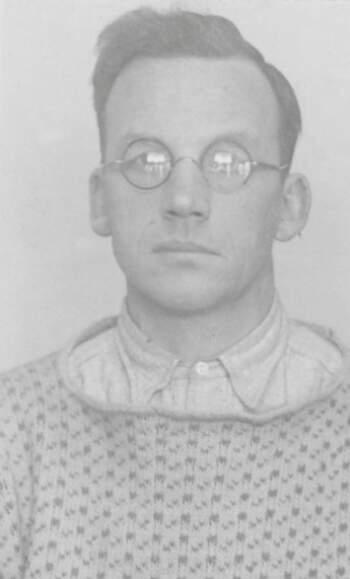 Olav Larssen (portrettbilde fra fangekort)