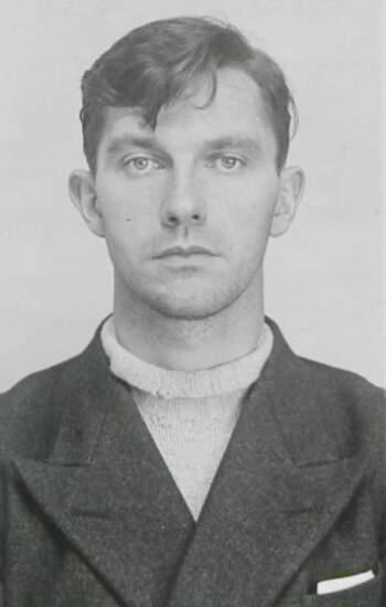 Sam Thorolf Tjønn Melberg (portrettbilde fra fangekort)