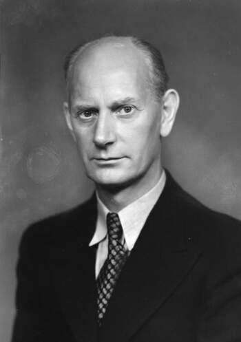 Einar Gerhardsen (portrettbilde, 1945)