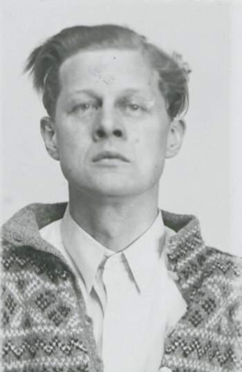 Christian A.R. Christensen (portrettbilde fra fangekort)