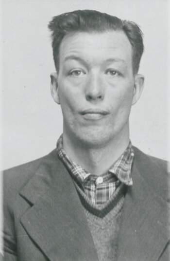 Osmund Lingård Brønnum (portrettbilde fra fangekort)