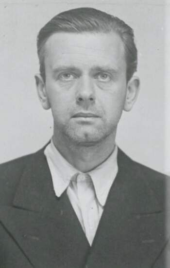Per Aabel (portrettbilde fra fangekort)