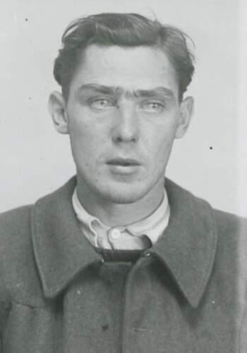 Arne Jonny Fredriksen (portrettbilde fra fangekort)