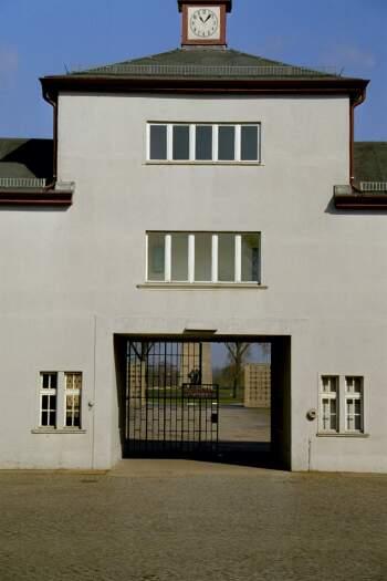 Hovedinngangen til Sachsenhausen